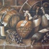 """Рыжикова Мария, """"Декоративный натюрморт """"Винный погребок"""", раб. №1, бум., пастель"""