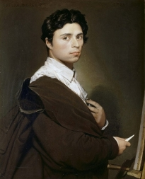 Художник Jean Auguste Dominique Ingres.