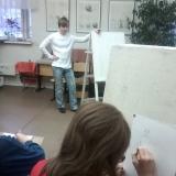 """3 класс. Урок """"Рисование фигуры человека"""""""
